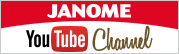 JANOME YouTube Channel