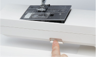 ワンタッチ式針板交換